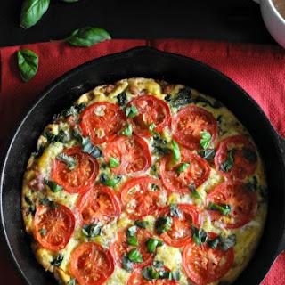 Sausage Tomato Basil Frittata {Paleo & Whole30}