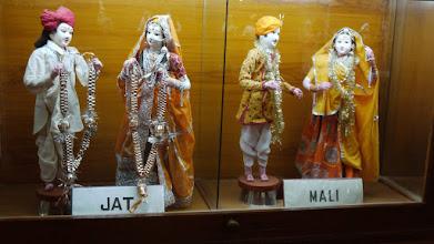 Photo: Die Hochzeitskleidung der indischen Kasten