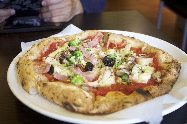 【苗栗   Casa Pizza】卡薩窯烤超平價披薩。世界大賽亞洲組🏆亞軍!