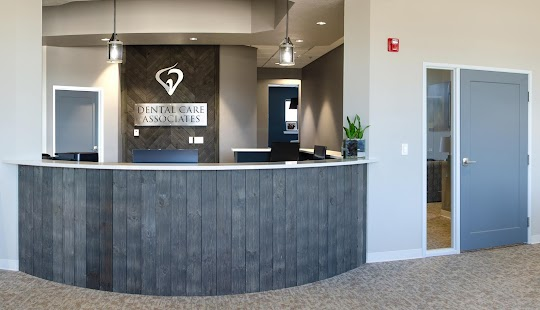Dental Care Associates GMB Post Picture Front Desk