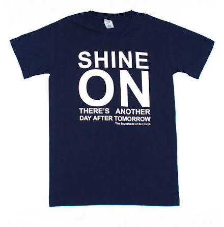 T-Shirt - Shine On - Blå