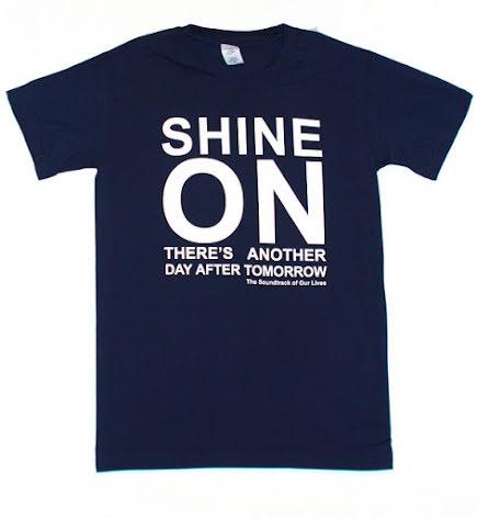 T-Shirt - Shine On - Blå