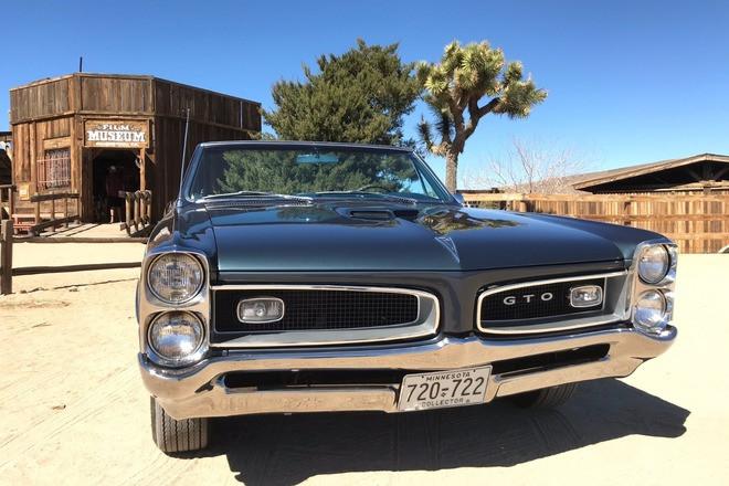 1966 Pontiac GTO. Car of Year Winner. Hollywood A-List Fave Hire CA 92014