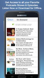 VoiceAmerica Radio Network - screenshot thumbnail