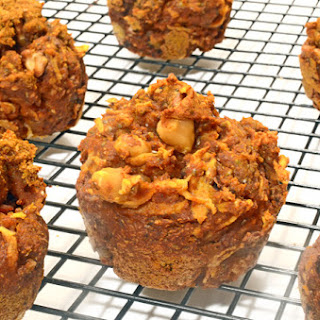 Pumpkin Chia Muffins (All Natural Ingredients)