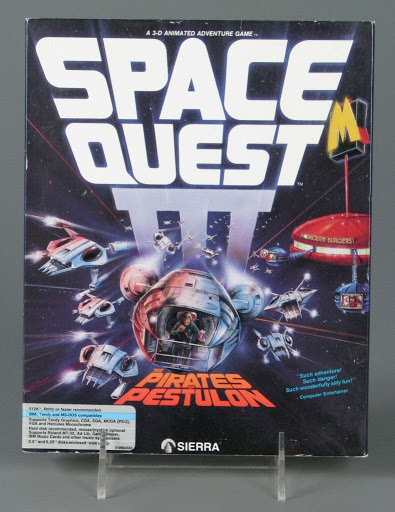 Video game:Space Quest III: The Pirates of Pestulon