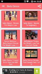 Belly Dance Fitness Workout Screenshot Thumbnail