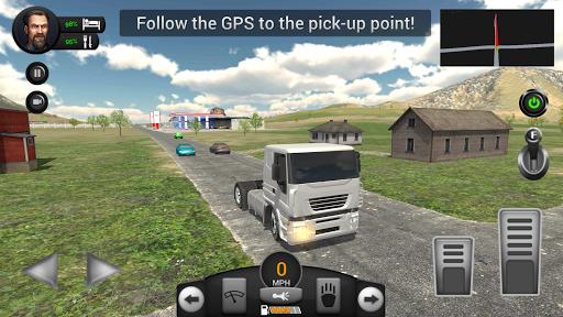 Real Truck Driving Simulator filehippodl screenshot 7