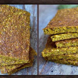 Nutritious Golden Cauliflower Turmeric Flatbread