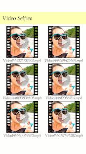 Video Selfies: Selfies Video - náhled
