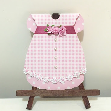 """Princess Dress"" (Baby Card)"