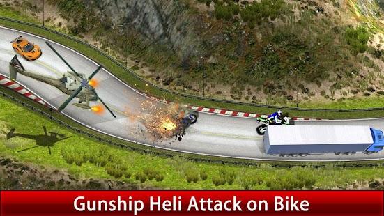 Gunship Attack Bike Racer ? - náhled