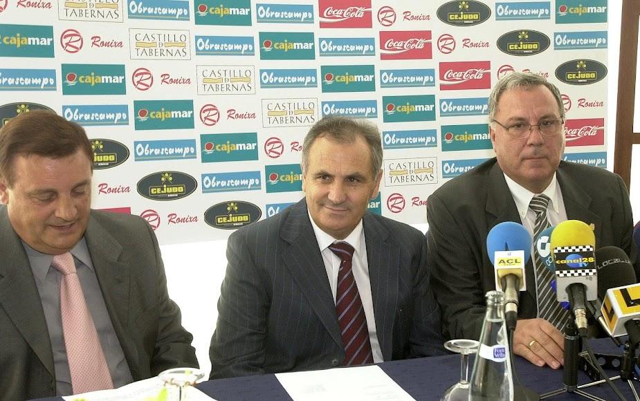 García se mostraba ilusionado con su nuevo club.