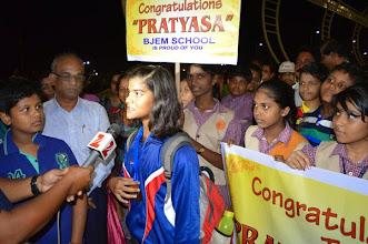 Photo: Pratyasa,Meadia & students