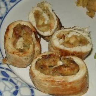 Stuffed Turkey Rolls