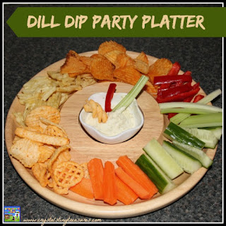 Dill Dip Party Platter