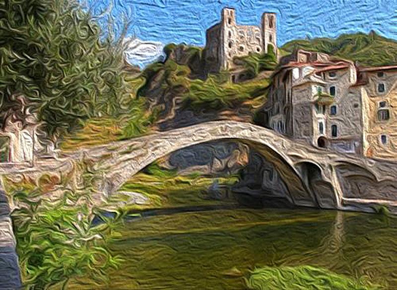 Monet - Dolceacqua di MicheleSpadafina