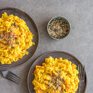 Ginger Turmeric Carrot Risotto.
