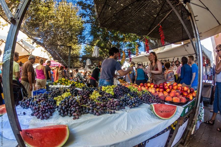 Market Stall by Stewart Podoski - Food & Drink Fruits & Vegetables ( fruit, market, stall, people )