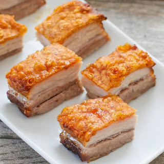 Crispy Golden Pork Belly