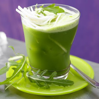 Arugula and Celery Root Juice