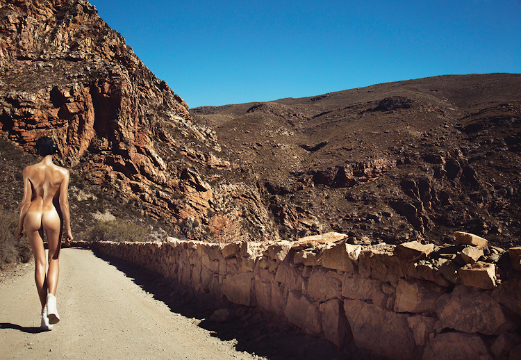 Jenna, Swartberg Pass, South Africa, 2014