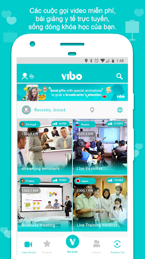 Vibo Live Mod - Free Private Room