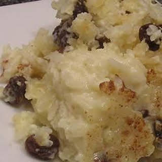 Baked Rice Pudding With Raisins Recipes.