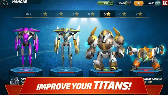 Forge of Titans: Mech Wars- screenshot thumbnail