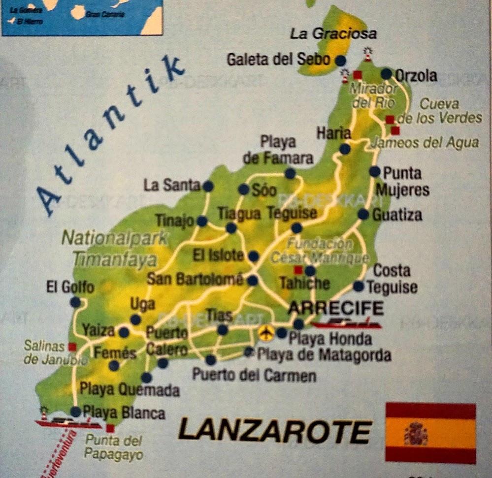 Зима на Канарах: Лансароте - огненная земля и Фуэртевентура - остров ветров.