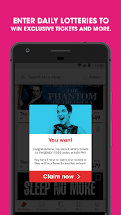 TodayTix – Theater Tickets- screenshot thumbnail