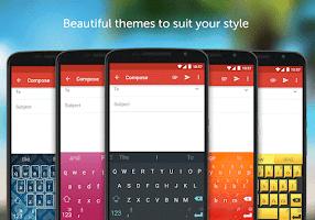 Screenshot of SwiftKey Keyboard