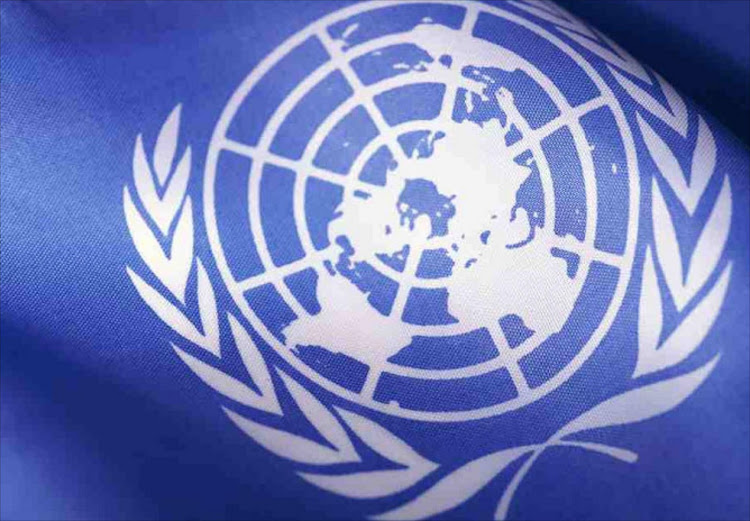 The UN's emblem. Picture: SUPPLIED