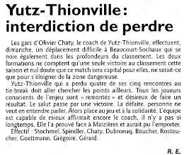 Photo: 20-11-2011 L'ASVB espère une deuxième victoire à Beaucourt