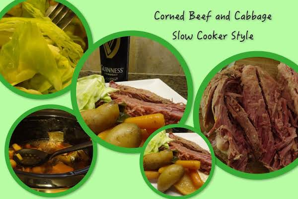 Corned Beef And Cabbage Slow Cooker Style