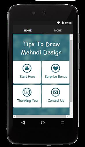 Tips To Draw Mehndi Design