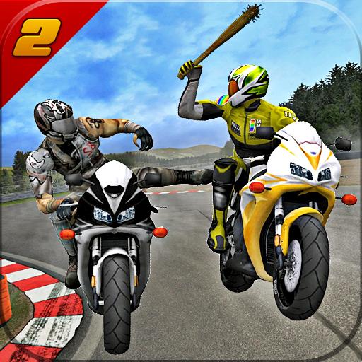 Highway Bike Attack Racer: Moto racing (game)