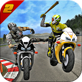 Highway Bike Attack Racer: Moto racing