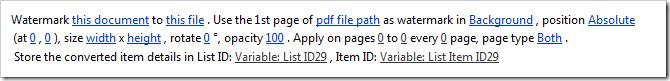 PDF WM Action