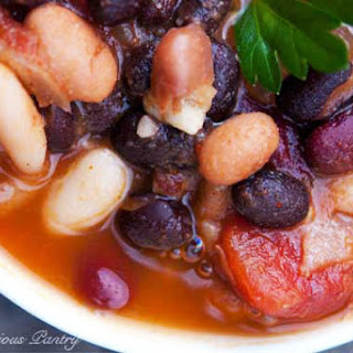Clean Eating 4 Bean Chili