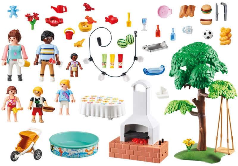 Contenido real de Playmobil® 9272 Fiesta en el Jardín