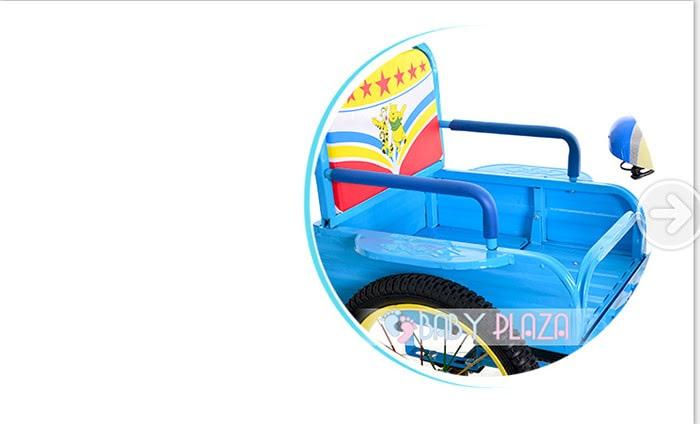 Xe đạp xích lô dành cho bé yêu XL-01 12