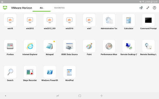 VMware Horizon Client 5.4.1 screenshots 6