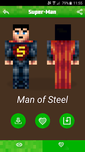 Skins for Minecraft -Superhero