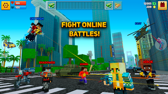Block City Wars Skins Export Apps On Google Play - Minecraft city spiele