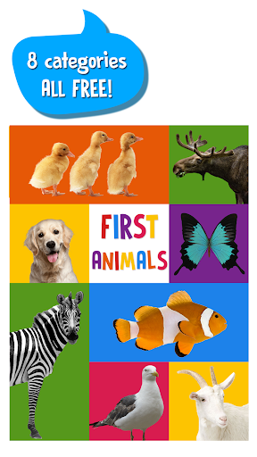 First Words for Baby: Animals screenshot 5