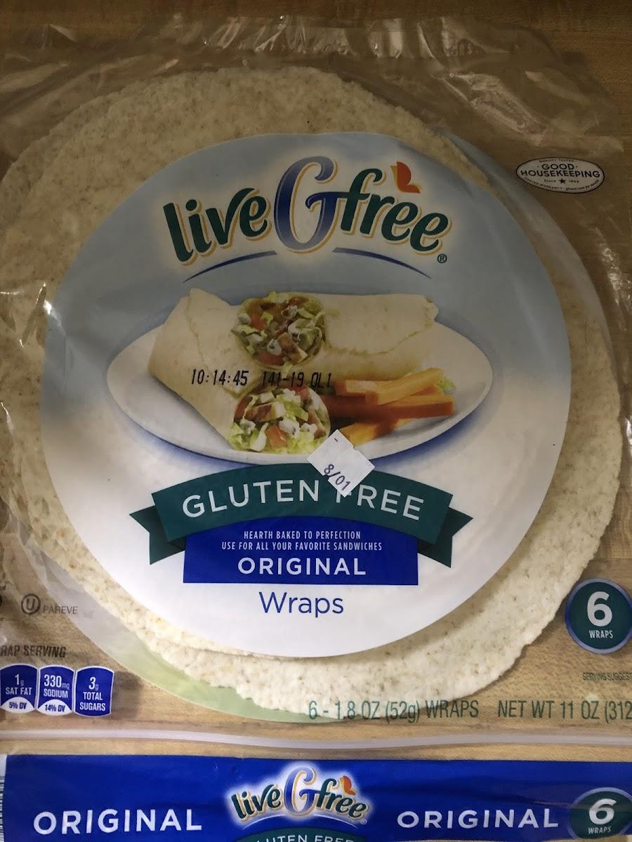 Aldi Gluten Free Original Wraps