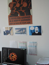 Photo: being a Basic Instructions fan for some time now, I had to make it public by decorating my office wall. - Andreas