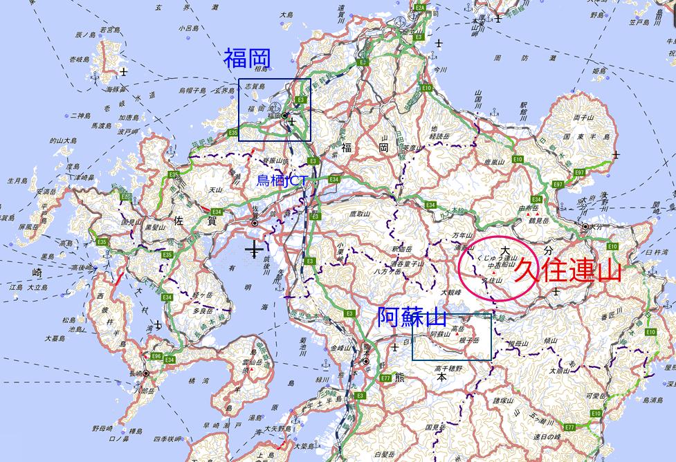 九州北部地図