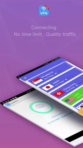 Free VPN - Wifi Unlocker 1.5.0 screenshots 2